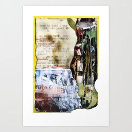 Recollections  Art Print