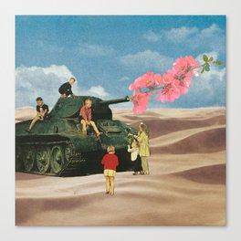 Love Not War Canvas Print