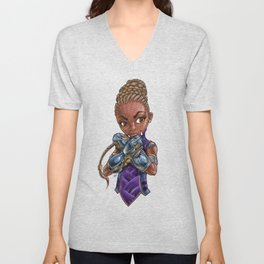 Princess of STEAM Unisex V-Neck