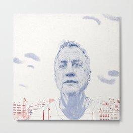 Johan Cruyff Metal Print