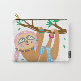 Sexy Sloth Carry-All Pouch