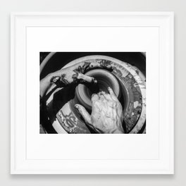 potter and clay 006 Framed Art Print