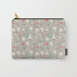Baby fox pattern 03 Carry-All Pouch
