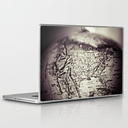 Travel the Globe Laptop & iPad Skin