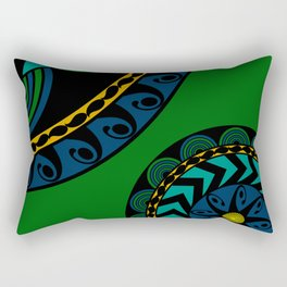 Zentangle 1 Rectangular Pillow