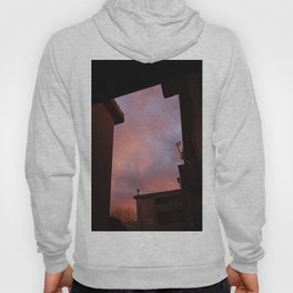 Pink Sunset - Spot the Face Hoody