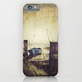 Rugged fisherman iPhone Case