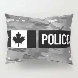 Canadian Police: Urban Camouflage Pillow Sham