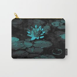 Lily pond under the moon light Carry-All Pouch