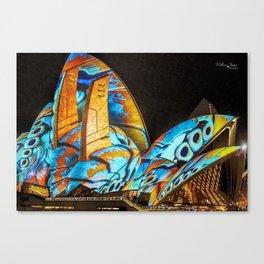 Vivid Festival Sydney (4) Canvas Print