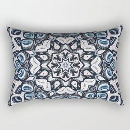Textured Kaleidoscope Rectangular Pillow