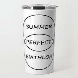 Summer Biathlon Travel Mug