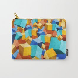 Cubism Carry-All Pouch