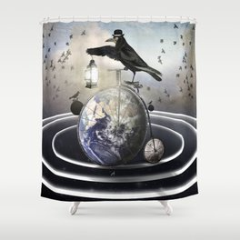 My Orbit Shower Curtain