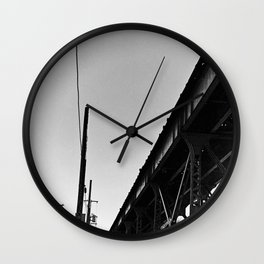 Milwaukee & Leavitt Wall Clock