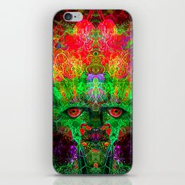 The Flower King iPhone Skin