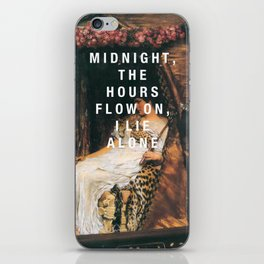 midnight the hours iPhone Skin