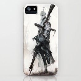 Apparition of War iPhone Case