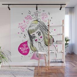 Harajuku Girl Wall Mural
