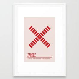 Zardoz Framed Art Print