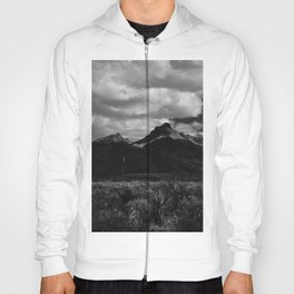 Dramatic Clouds over Mountain Range in Big Bend Hoody