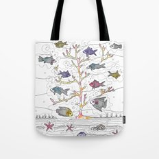 Coral of Life (Underwater)  Tote Bag
