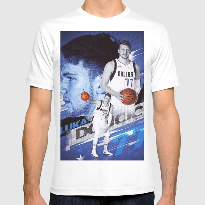 newest 2b478 e087d Luka Doncic Dallas Mavs T-shirt by toyssoldiier