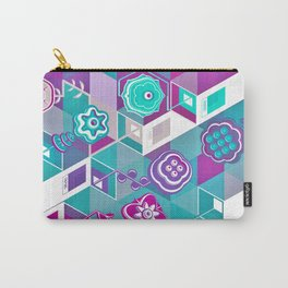 PLANTONE // Isometric Gardens Carry-All Pouch