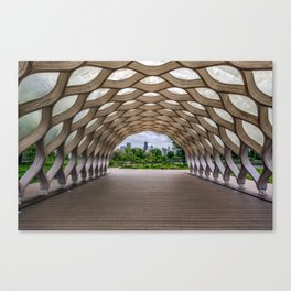 Chicago's Honeycomb in Lincoln Park Canvas Print