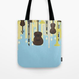Growing Music Tote Bag