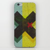 cross iPhone & iPod Skins featuring CROSS by Metron