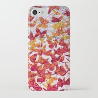 butterflies iPhone & iPod Cases featuring Butterflies by Lia Bernini