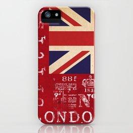 Union Jack Great Britain Flag iPhone Case