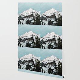 Turquoise Sky Mt. Baker Wallpaper