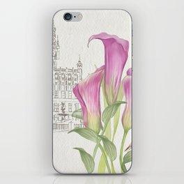 Macro flowers #24 iPhone Skin