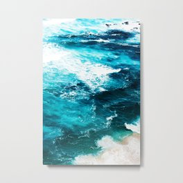 Sea Foam #society6 #decor #buyart Metal Print