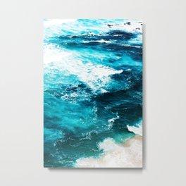 Sea Foam #society6 #decor #buyart Metal Print