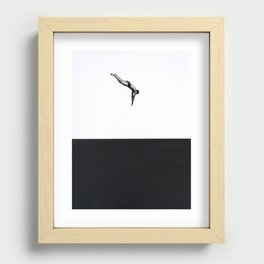 Dive Recessed Framed Print