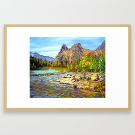Lake O'Hara Holiday by Amanda Martinson Framed Art Print