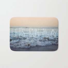 Let's Run Away x Arcadia Beach Bath Mat