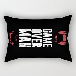 Game Over Man Rectangular Pillow