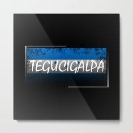Tegucigalpa Metal Print