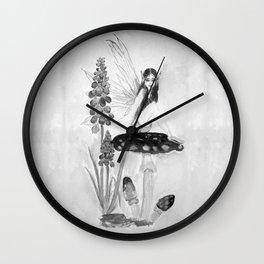 My childhood fantasy-Fairy Fairy Fairy Wall Clock