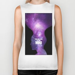 Your only limit is your mind Biker Tank