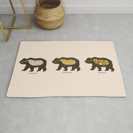 The Eating Habits of Bears Rug