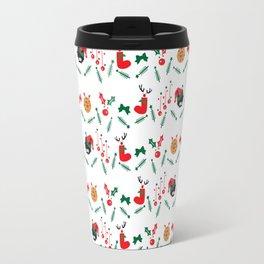 Christms decoration pattern Travel Mug