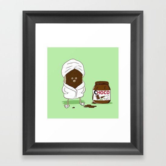 Pamper yourself Framed Art Print