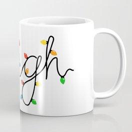 Sleigh Christmas Lights Coffee Mug