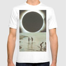 Lovers White MEDIUM Mens Fitted Tee