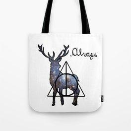 Deathly Hallows - Always Tote Bag